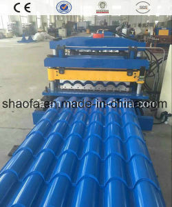 Steel Tile Metal Roof Panel Roll Forming Machine pictures & photos