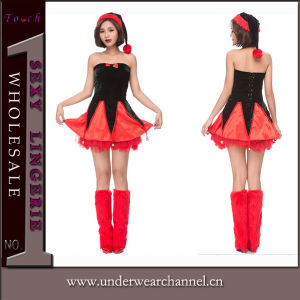 2018 Adult European Xmas Christmas Dress Sexy Uniforms Costume (TDD80759) pictures & photos