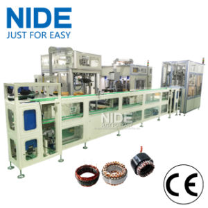 Automatic Compressor Motor Stator Production Assembly Line pictures & photos
