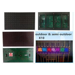 Hot Sale Hihg Quality Indoor Colorful X10 Single LED Display pictures & photos
