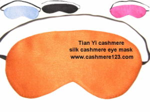 Cashmere, Silk Cashmere Eye Mask pictures & photos