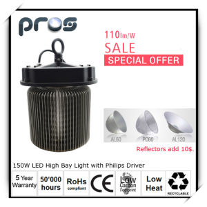 on Sale LED Industrial Lighting, 150W LED High Bay Light with Ies pictures & photos