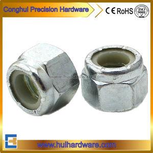 ANSI/ASME B 18.2.2 Steel Hexagon Nylon Lock Nuts pictures & photos