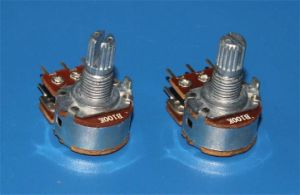 16mm Rotary Potentiometers Dual Unit for Auido Equipment (RP1610GO) pictures & photos