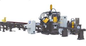 CNC Angle Iron Marking, Punching and Cutting Production Line (APLH-2020)