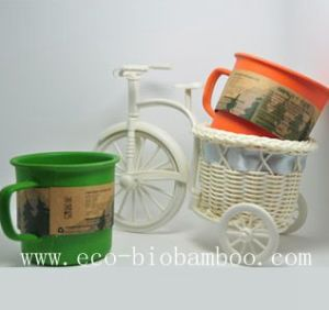 Bamboo Fiber Cup with Eco-Friendly (BC-C1004) pictures & photos