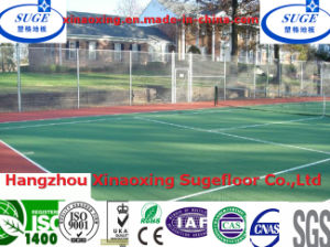 CE Customized Water Proof Tennis Court Flooring pictures & photos