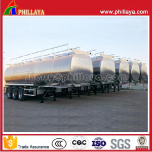 China Aluminium Tank for Fuel Oil/Water Storage Semi Tank Trailer pictures & photos