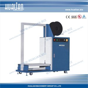 Hualian 2017 Automatic Strapping Machine with Side Seal (KZC-80120) pictures & photos