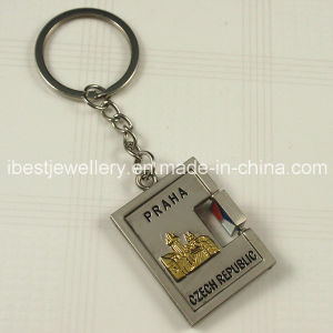 Souvenirs for Czech - Rotational Metal Zinc Alloy Key Ring pictures & photos