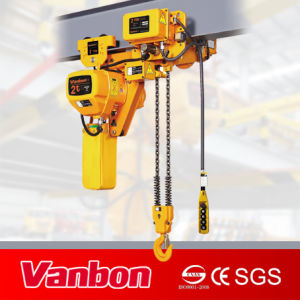 2ton Electric Chain Hoist Used for Limitted Space Lifting (WBH-01002DL) pictures & photos