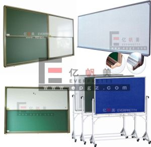 Movable Chalkboard for Classroom Mobile Chalkboard for Meeting Room with Chalk & Eraser pictures & photos