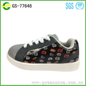 High Quality 3D Printed Leisure Casual Injection Shoes for Children pictures & photos