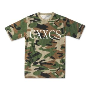 Woodland Camouflage Tshirt for Army pictures & photos