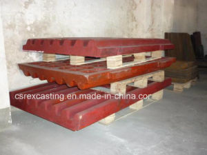 High Mn Wear Resistant Ball Milling Liner Plate Casting pictures & photos
