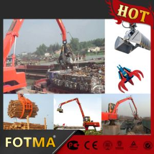 Electric Material Handler with Log Grab/ Hydraulic Log Grapple pictures & photos