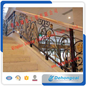 Customized Outdoor Metal Stair Wrought Iron Railings pictures & photos