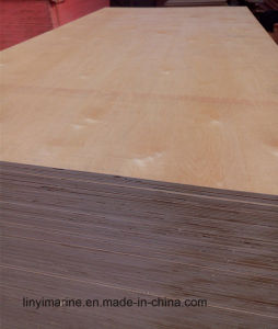 2.7mm-21mm Natural Birch Plywood Timber pictures & photos