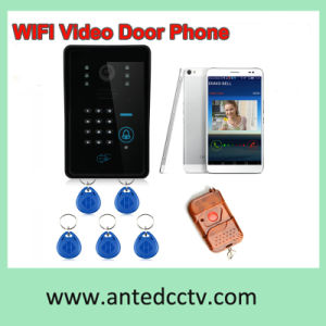 Home Security Wireless WiFi Video Door Intercom System with RFID ID Card Unlocking pictures & photos