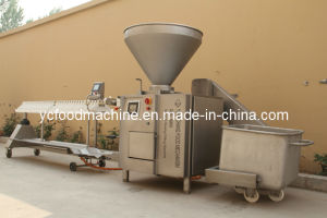 3000kg/Hour Meat Stuffing Machine with Auto-Twisting Device to Choose pictures & photos