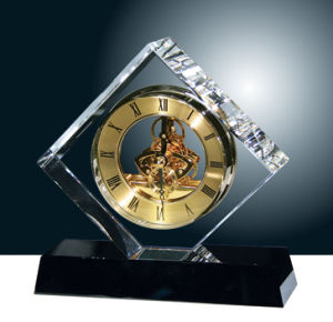 New Fashion Crystal Desk Clock for Home&Office Decoration (JD-CD-602) pictures & photos