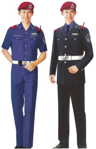 Comfortable Security Uniform for Men in Guangzhou of Fashionable Style (Sc-09) pictures & photos
