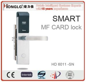 Honglg Manufacturing RFID Card Electronic Hotel Door Lock pictures & photos