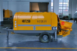 HBT Series Diesel Trailer Concrete Pump for Fine Aggregate