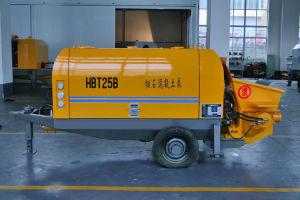 HBT Series Diesel Trailer Concrete Pump for Fine Aggregate
