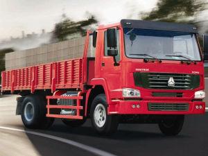 290HP Sinotruk HOWO Lorry 4X2 Cargo Truck, Van Truck