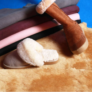 Real Australian Double Face Sheepskin for Shoes pictures & photos