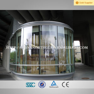 12mm Clear Bent Toughened Building Curved Tempered Glass pictures & photos