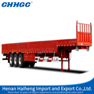 China High Strength Steel Side Wall Semi-Trailer pictures & photos