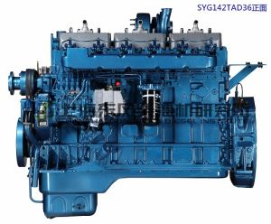 Dongfeng/G128 /Shanghai Diesel Engine for Genset/Power Engine/ 400kw pictures & photos