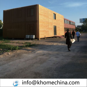 Well Decorated Container Hotel Family Container House pictures & photos