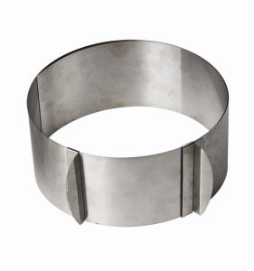 Stainless Steel Cake Mould Ring (LH-A018)