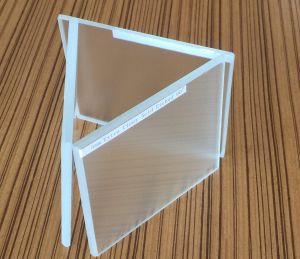 Acid Etched Glass/French Embossing/Satin Glass pictures & photos