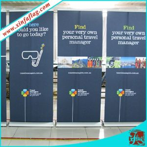 Display Stand Roll up Banner with Aluminium Frame pictures & photos