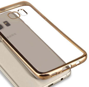 Electroplating Mobile Phone TPU Case for Samsung S6 G9200 pictures & photos