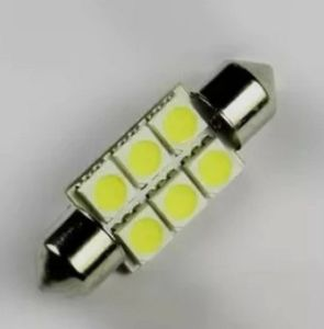 36mm 6 LED 5050 Car Festoon Interior Light pictures & photos