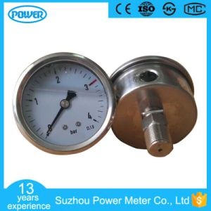 2.5′′ 63mm Full Stainless Steel Glycerin Filled Manometer pictures & photos