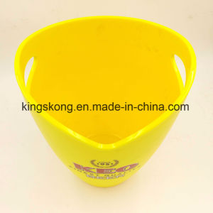 Plastic Bar Yellow Color Ice Bucket pictures & photos