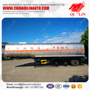 Cheap Price 42000 Liters Chemical Liquids Tank Semi Trailer pictures & photos