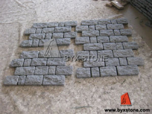 Grey Outdoor Garden Natural Granite Paving Stone / Cobblestone pictures & photos
