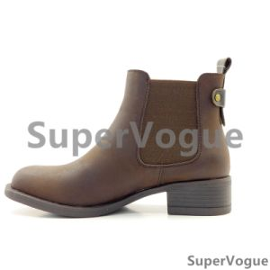 Comfortable Fashion Women Boots/Shoes Lady Boots/Shoes Ankle Boots Elastic Boot Horse Boots pictures & photos