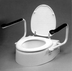 High Quality Raised Toilet Seat with CE &ISO pictures & photos