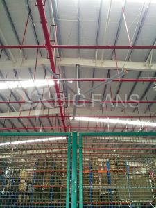 Automatic Industrial Giant Ceiling Fan / Fan of Ceiling7.4m/24.3FT pictures & photos