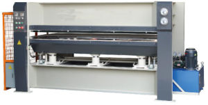 Press Machine with Hot Water Plates for Pressing Doors pictures & photos