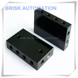 Aluminum Manifold with 2 Ports for Transfer Die pictures & photos