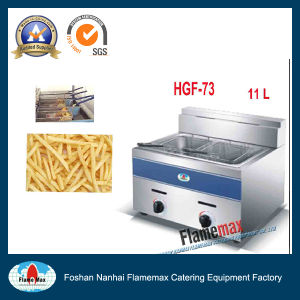 Stainless Steel Commercial Gas Deep Fryer (HGF-73) pictures & photos
